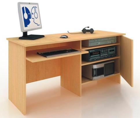 """Компьютерный лингафонный кабинет """"Норд К-2"""", """"Норд К-3"""". Рабочее место преподавателя."""