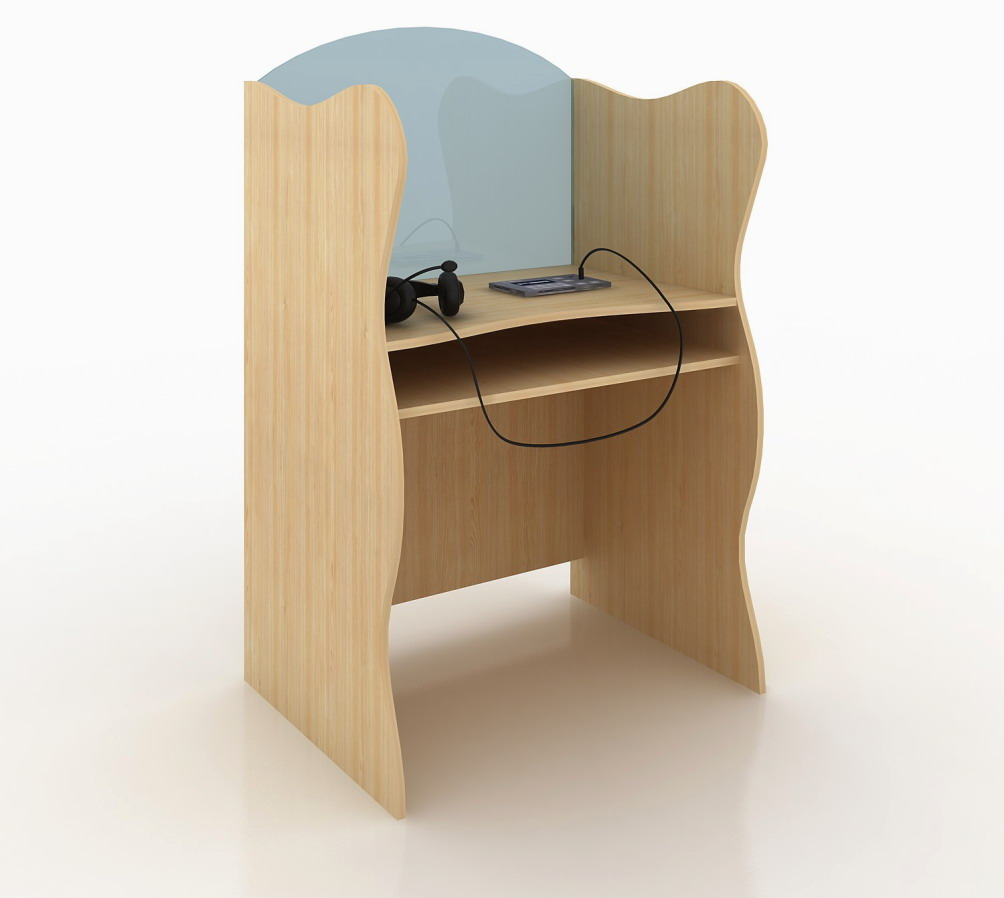 Цифровой лингафонный кабинет. Рабочее место ученика